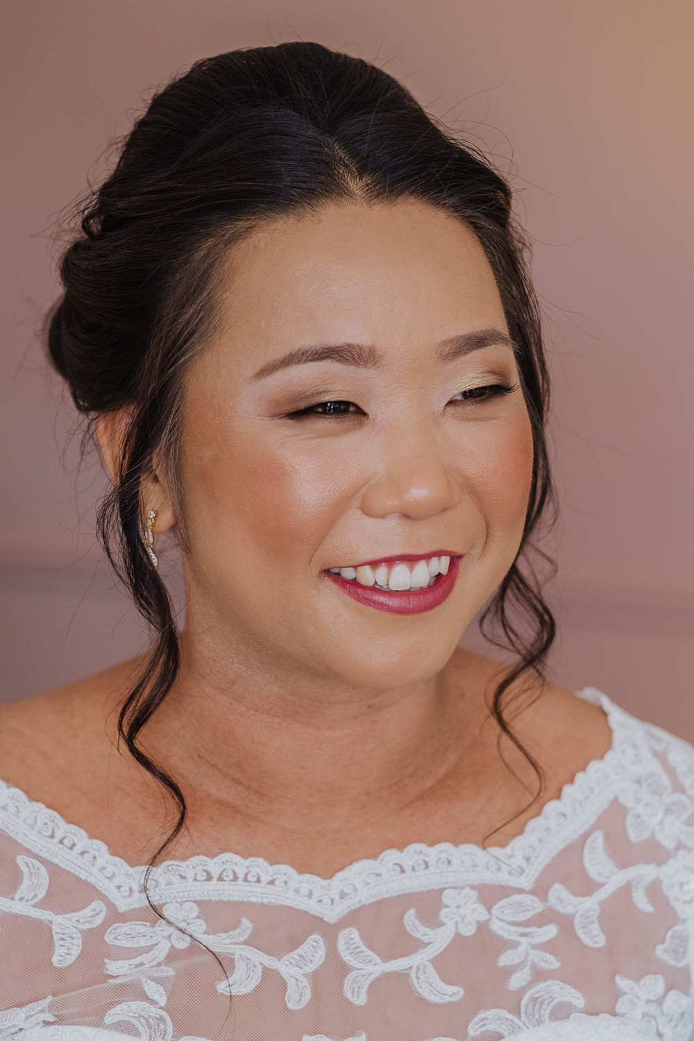 Bride Bridal Makeup Hair Oakwell Hall Wedding Jenna Kathleen Photographer