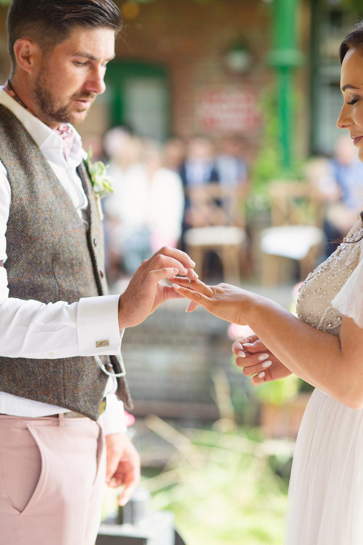 Railway Station Wedding Cotton Candy Weddings