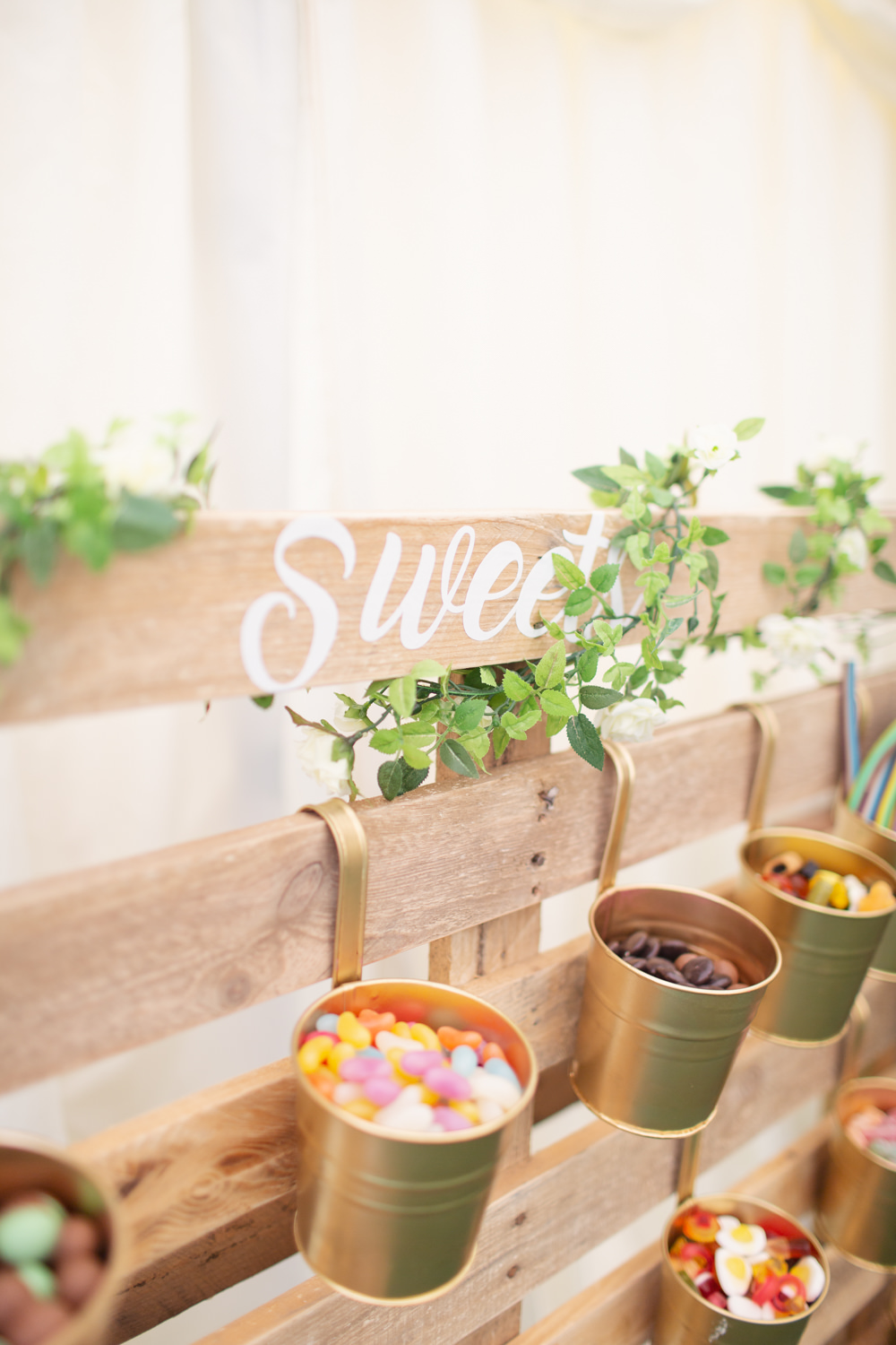 Sweets Sweetie Table Bar Railway Station Wedding Cotton Candy Weddings