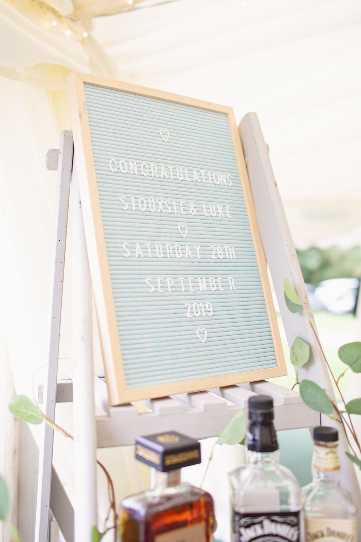 Sign Signs Signage Felt Board Railway Station Wedding Cotton Candy Weddings