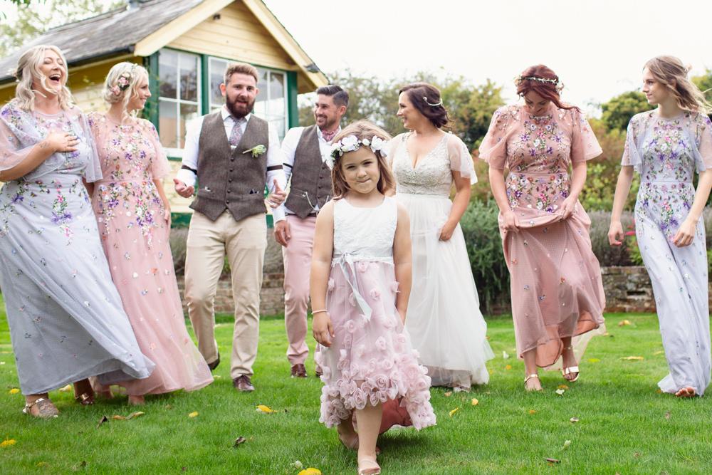 Flower Girl Dress Wand Flower Crown Railway Station Wedding Cotton Candy Weddings