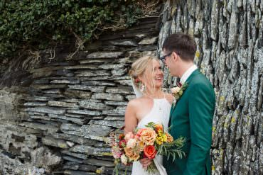 Rock Wedding Cornwall Robin Studios