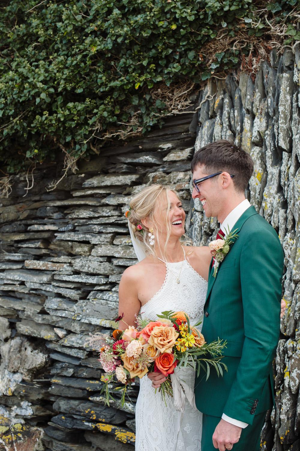 Rock Wedding Cornwall Robin Studios