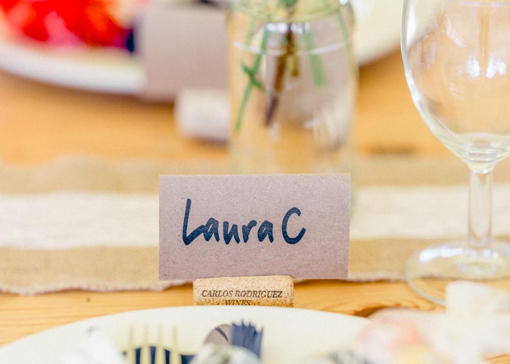 Place Name Cards Teybrook Orchard Wedding Hayley Jaynes Photography