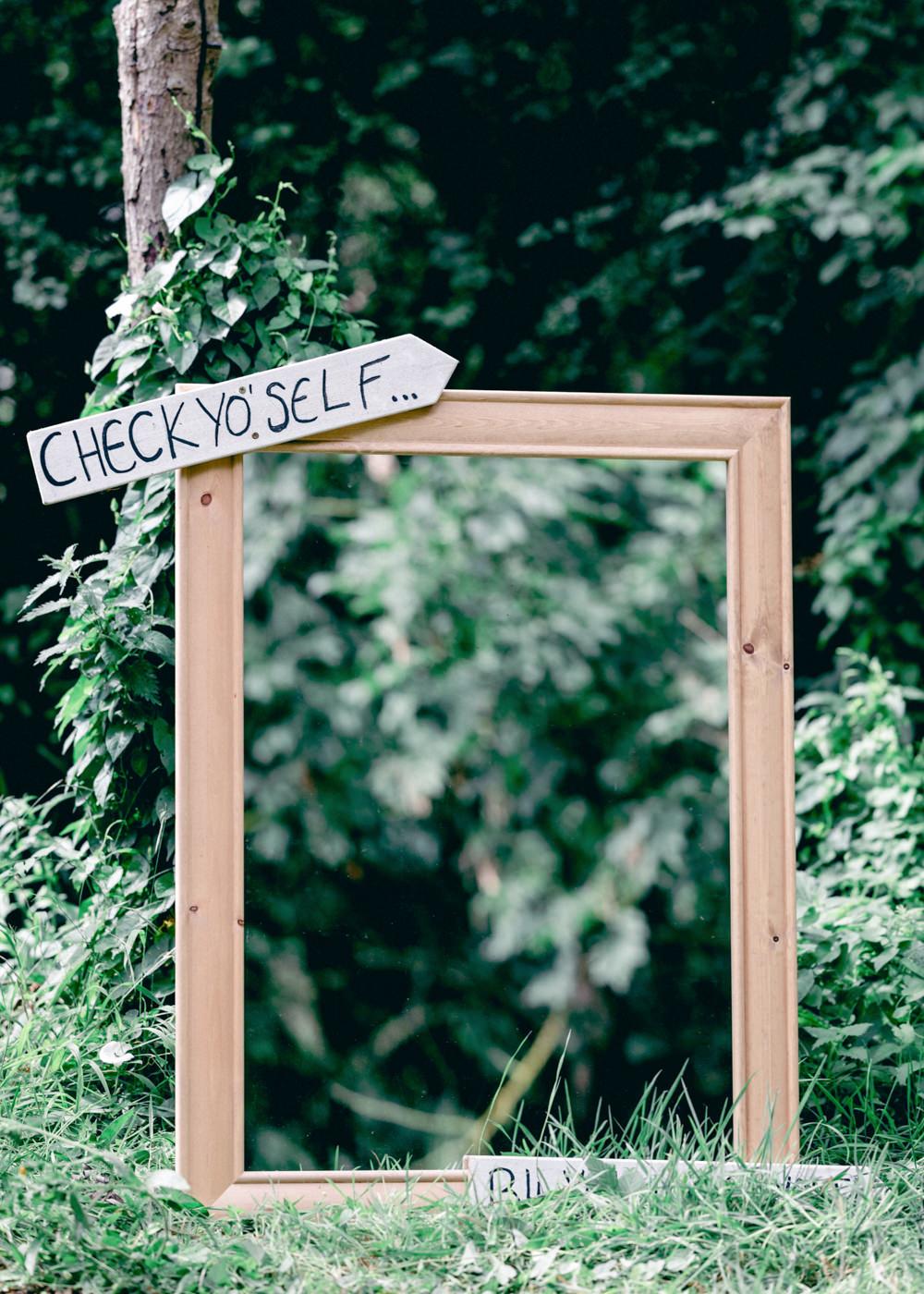 Photo Booth Frame Teybrook Orchard Wedding Hayley Jaynes Photography