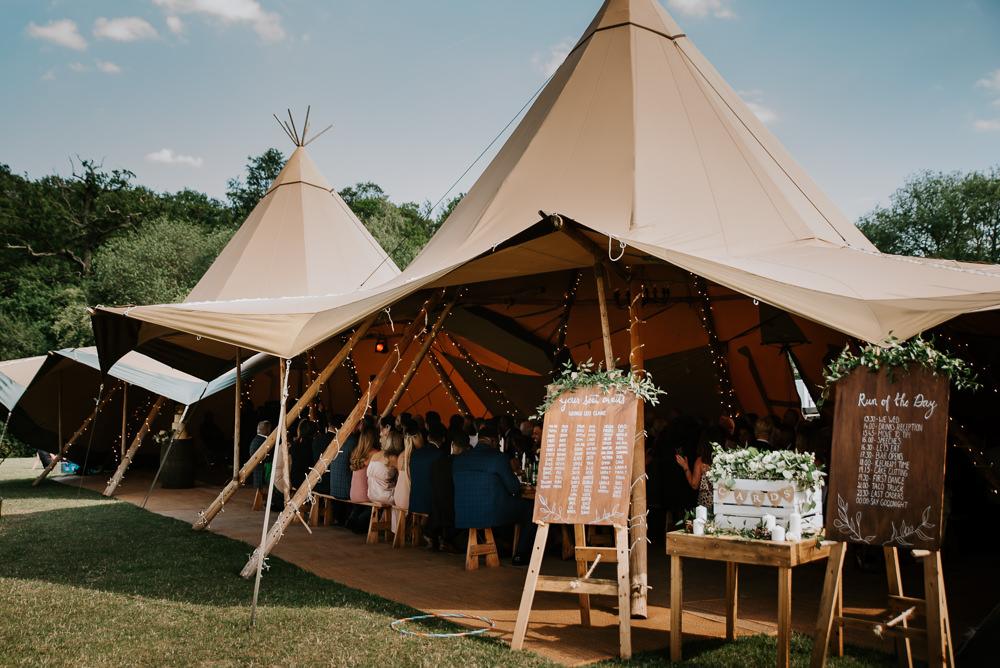 Tipi Hertfordshire Wedding Michelle Cordner Photography