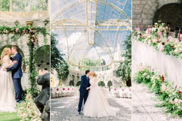 Fantasy Enchanted Floral Wedding with Dr Who & Harry Potter Details