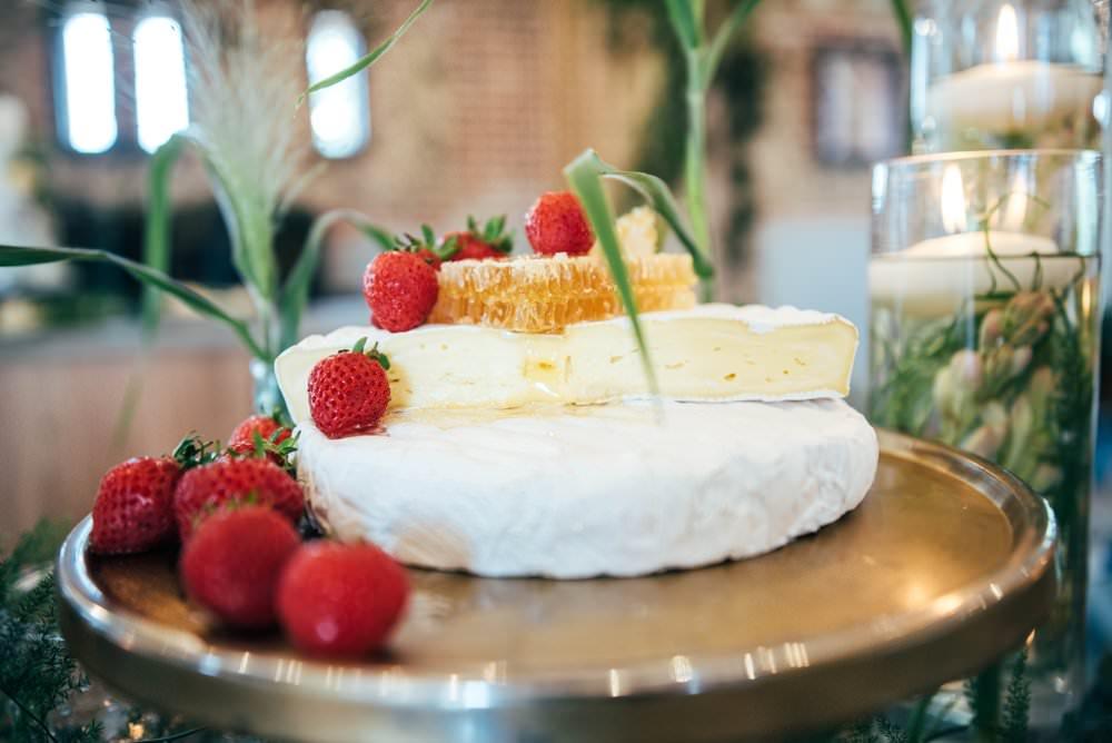 Food Grazing Table Buffet Sharing Platter Cheese Tuffon Hall Wedding Three Flowers Photography