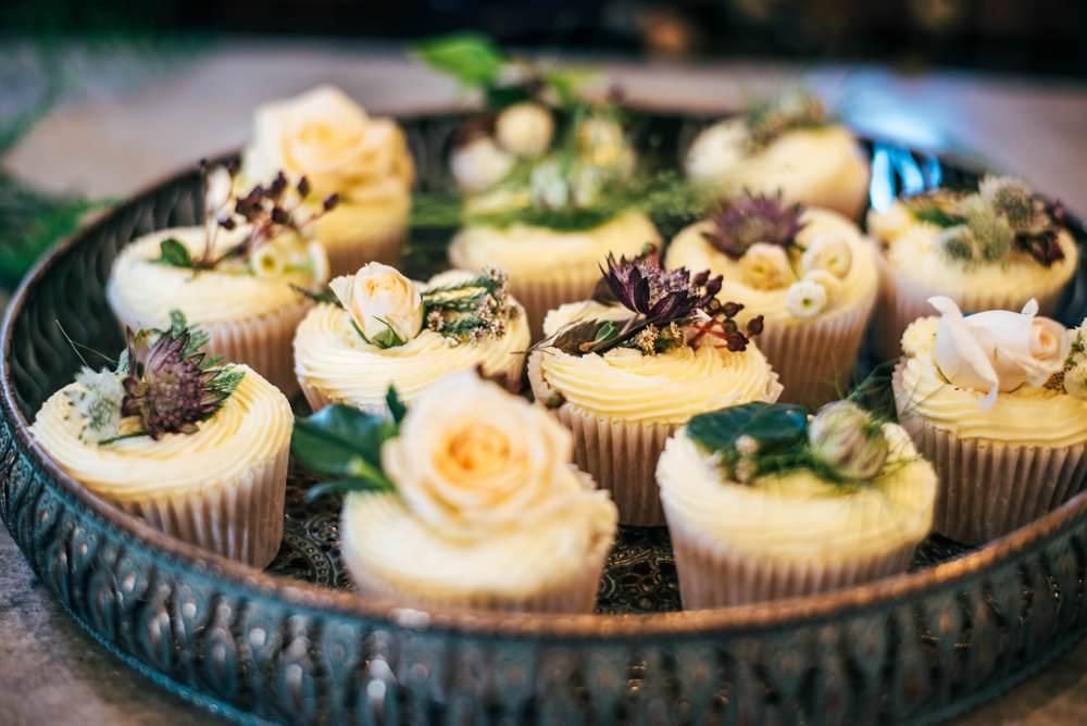 Cupcakes Tuffon Hall Wedding Three Flowers Photography
