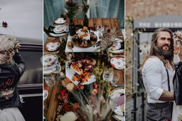 Unconventional Wedding Ideas with a Dark & Edgy Vibe