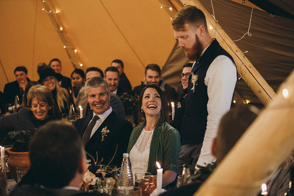 Autumnal Rustic Wedding Mark Tattersall Photography