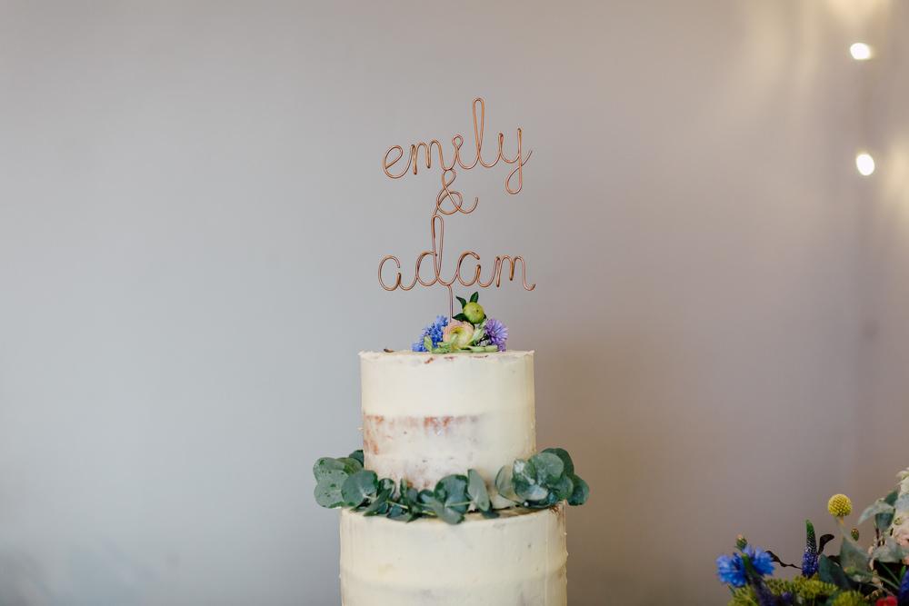 Cake Topper Semi Naked Barff Country House Wedding Sarah Beth Photo