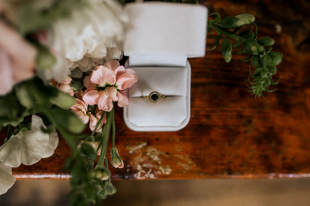 Engagement Ring Velvet Box Blush Pink Wedding Ideas Meghan Lorna