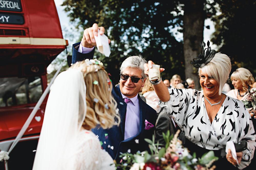Confetti Calke Abbey Wedding HBA Photography