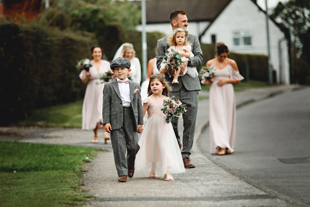 Flower Girl Page Boy Calke Abbey Wedding HBA Photography