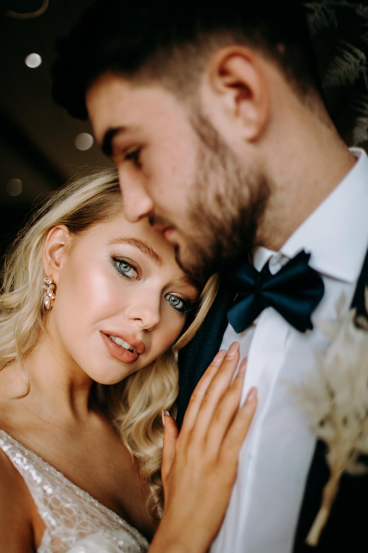Bride Bridal Make Up Celestial Wedding Ideas Christine Thirdwheeling