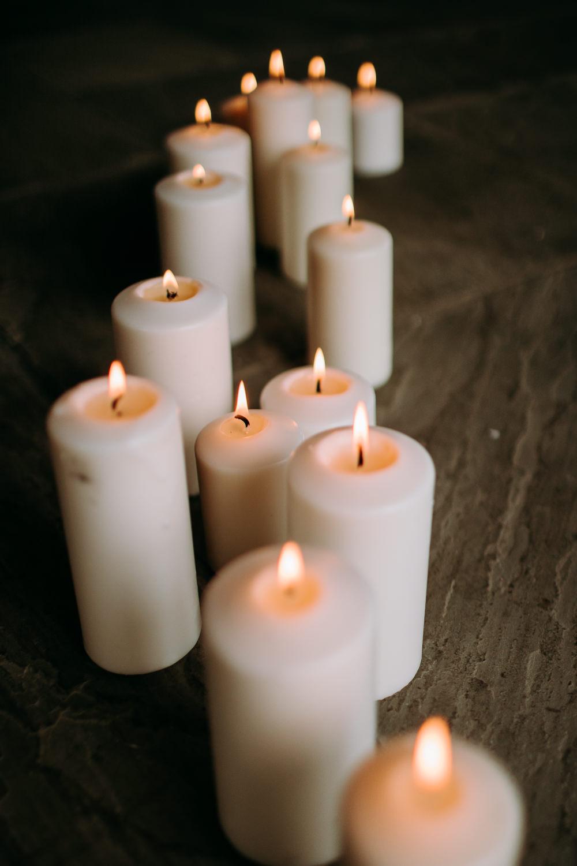 Candles Celestial Wedding Ideas Christine Thirdwheeling