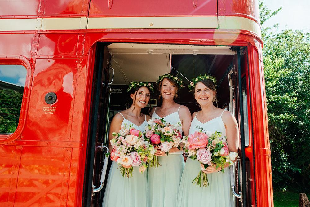 Bridesmaids Bridesmaid Dress Dresses Skirt Top Mint Green Clock Barn Wedding Angela Ward Brown
