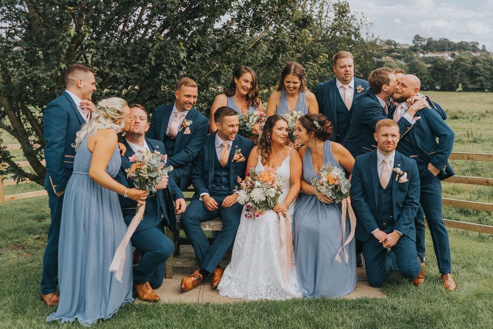 Crafty & Creative Coral Village Hall Wedding