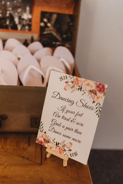 Flip Flops Crug Glas Country House Wedding Simon Murray Images