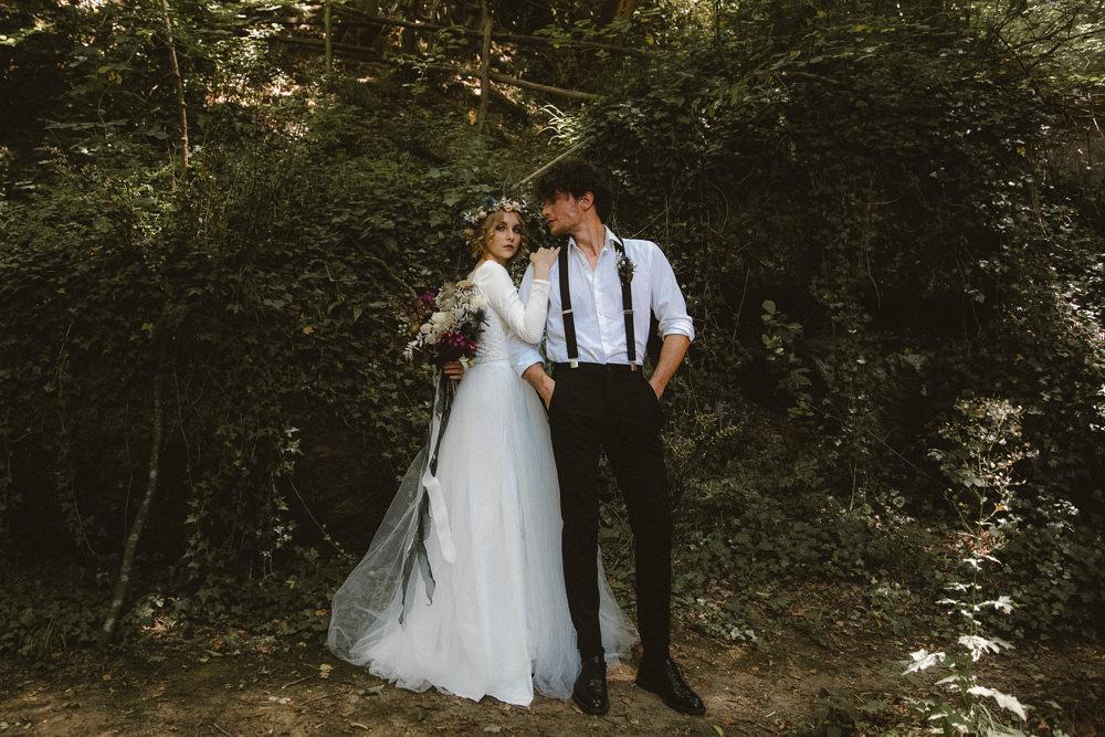 Ethereal Candlelit Wedding Ideas Ortica Wedding