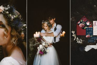 Ethereal Candlelit Wedding Ideas