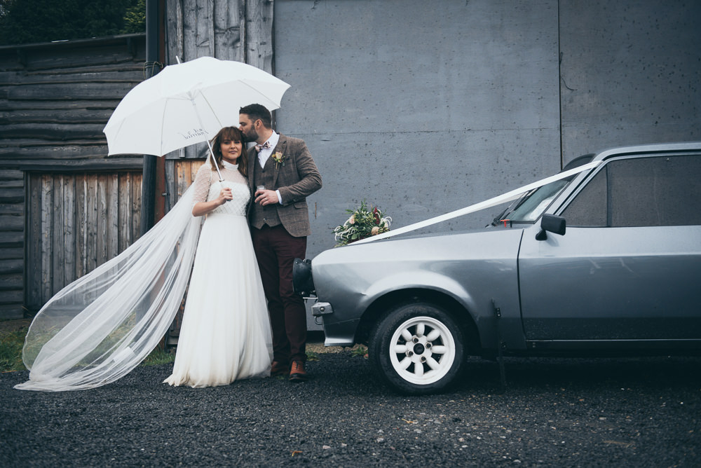 Car Transport Vintage Ford Fron Farm Yurt Retreat Wedding Cat Arwel Photography