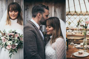 Rustic & Unique Yurt Wedding with Personal Touches