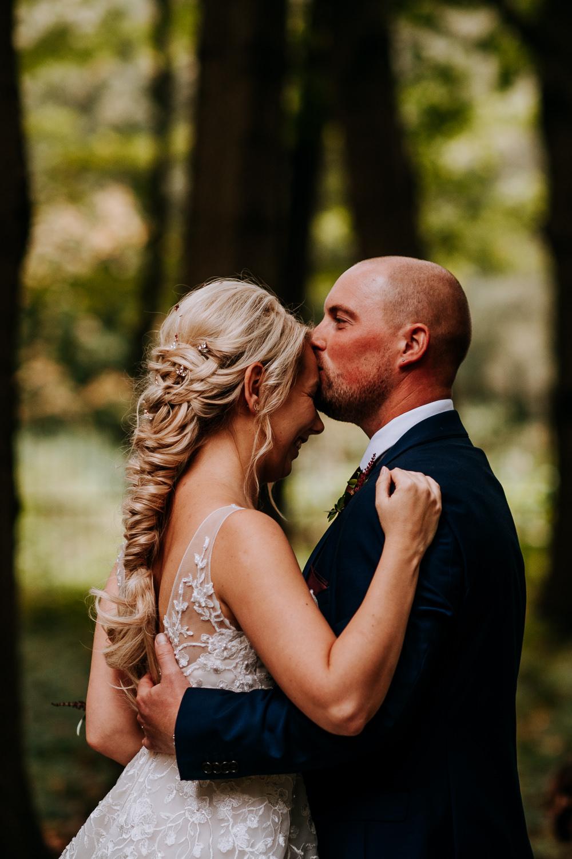 Industrial Homemade Wedding M and G Photographic Bride Bridal Hair Plait Braid Boho Bohemian