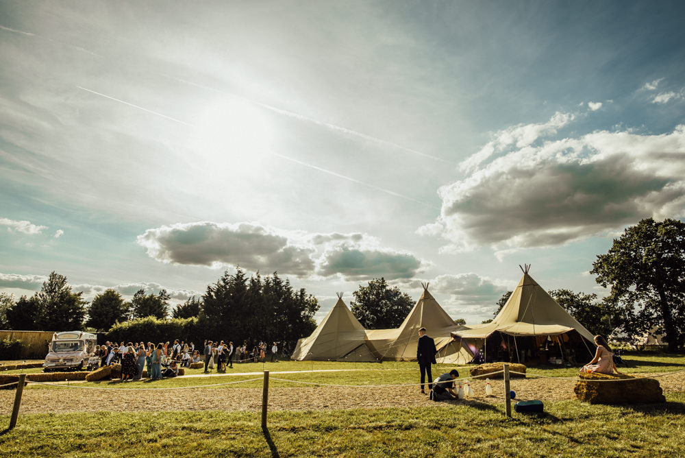Tipi Long Furlong Farm Wedding Michelle Wood Photographer