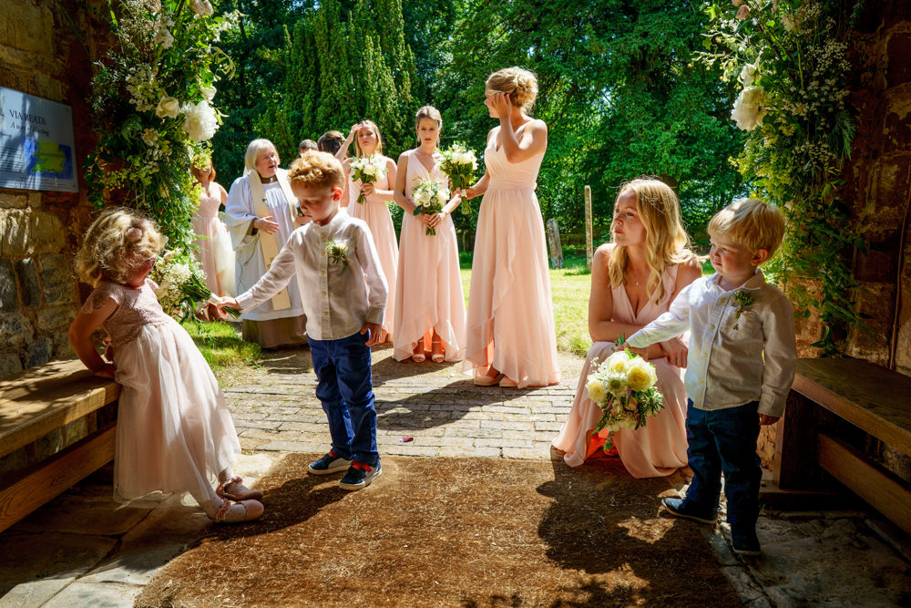 Flower Girls Page Boys Park Farm Wedding Everybody Smile Photography
