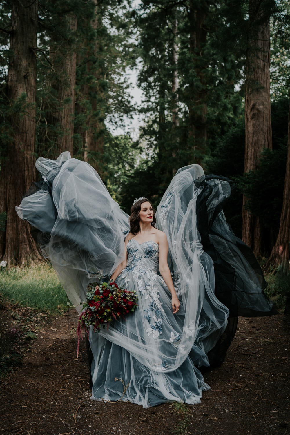 Dark & Decadent Snow White Wedding Inspiration
