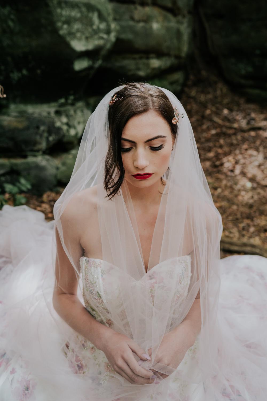 Bride Bridal Hair Make Up Veil Snow White Wedding Inspiration Joasis Photography