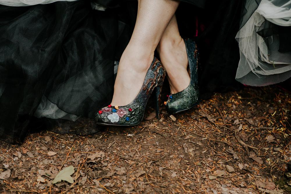 Shoes Bride Bridal Snow White Wedding Inspiration Joasis Photography
