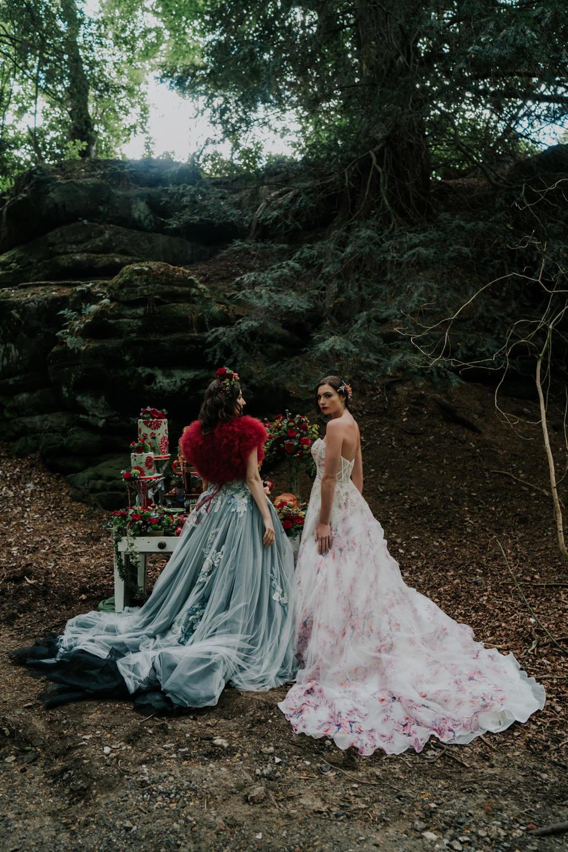 Snow White Wedding Inspiration Joasis Photography