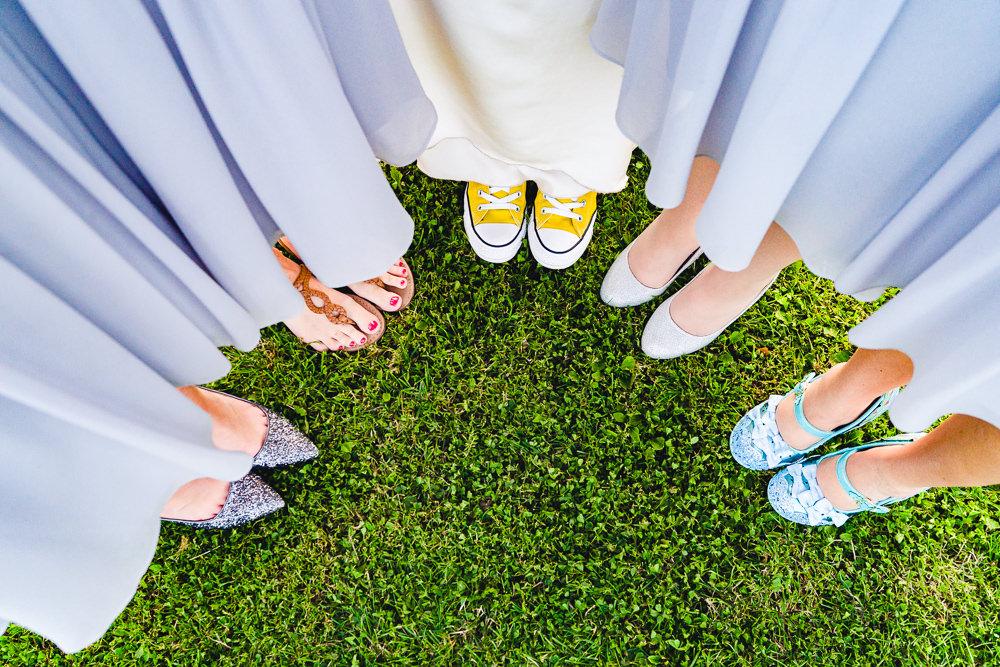 Bride Bridal Bridesmaid Shoes Birtsmorton Court Wedding The Dignums