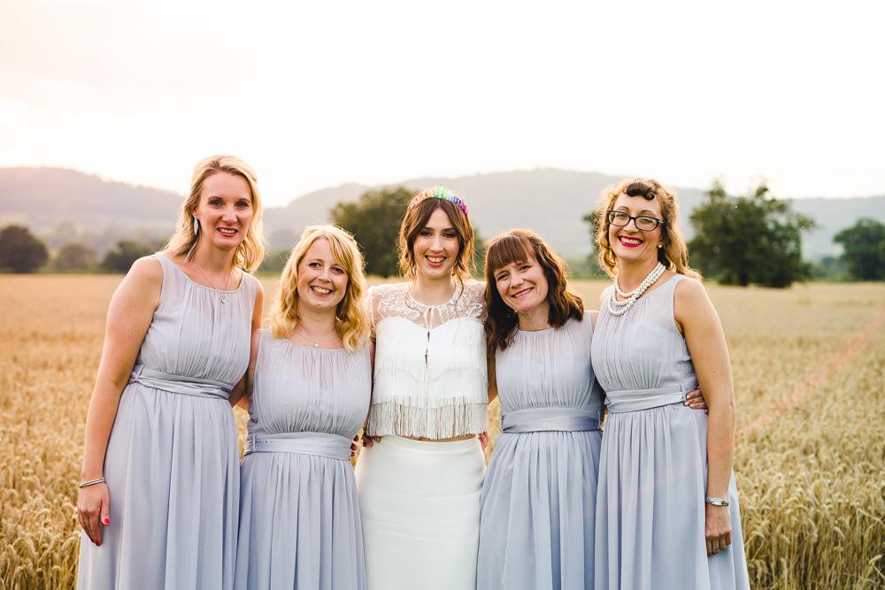 Bridesmaids Bridesmaid Dress Dresses Grey Birtsmorton Court Wedding The Dignums