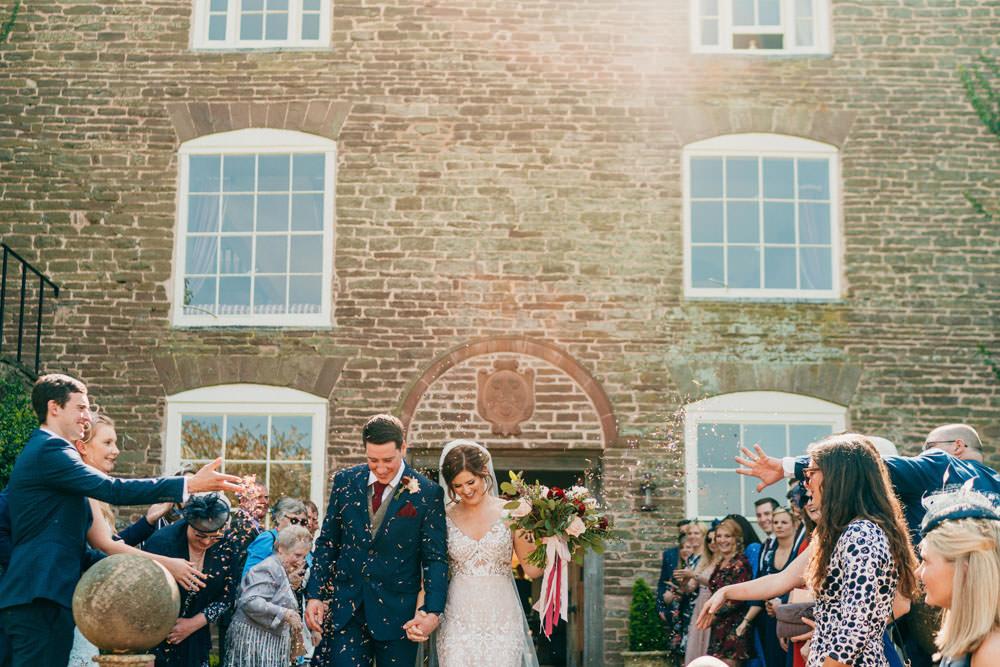 Confetti Burgundy Barn Wedding Jarek Lepak