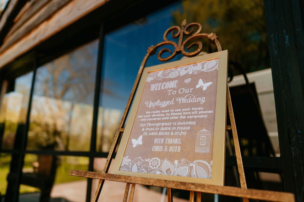 Sign Signs Signage Burgundy Barn Wedding Jarek Lepak