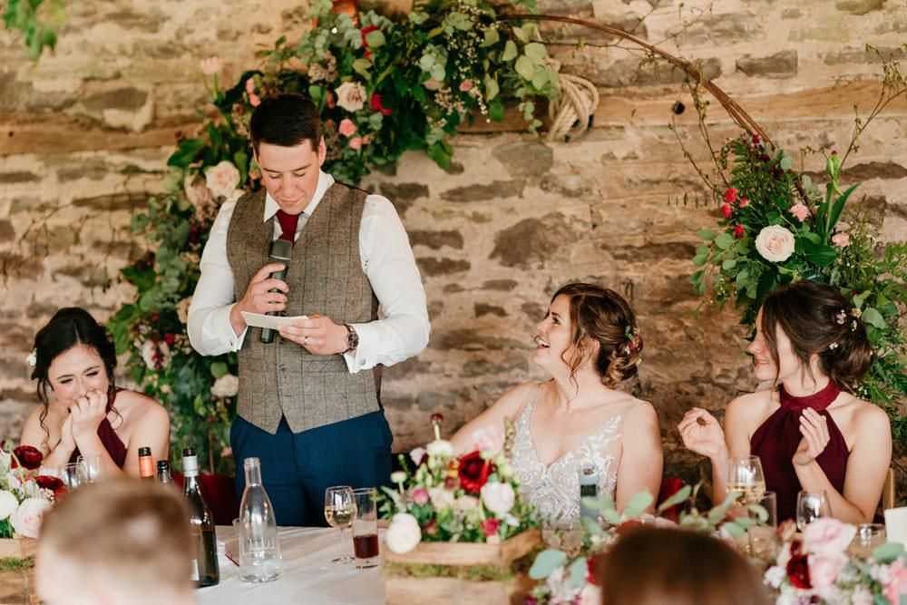 Burgundy Barn Wedding Jarek Lepak