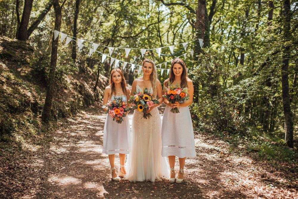 Bridesmaids Bridesmaid Dress Dresses Short Chateau de Lacoste Wedding The Shannons Photography