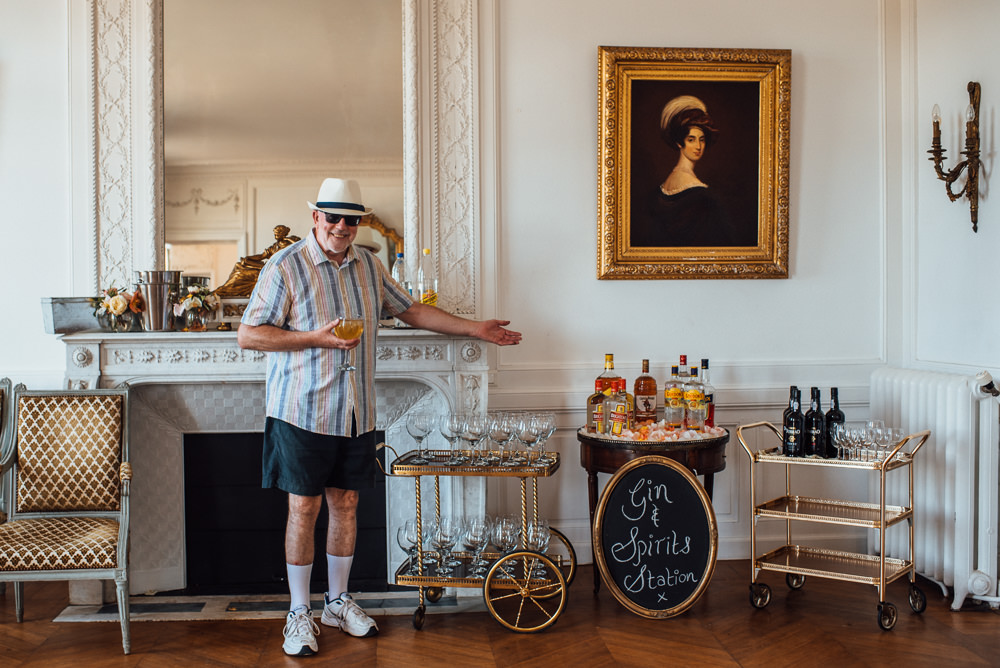 Drinks Bar Chateau de Lacoste Wedding The Shannons Photography