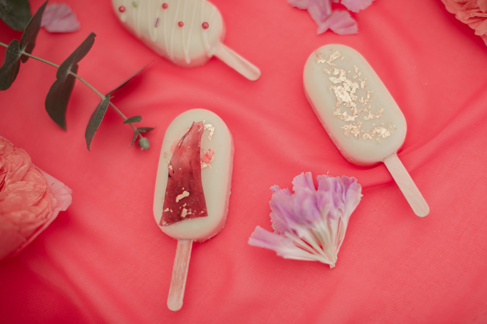 Lolly Favours Coral Peach Wedding Ideas Courtney Dee Photography