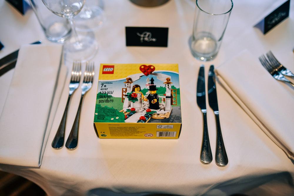 Lego Favour Glazebrook House Wedding Harriet Bird Photography