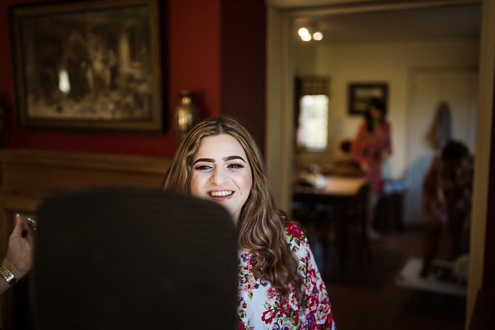 Bride Bridal Make Up Haughley Park Barn Wedding Him and Her Wedding Photography