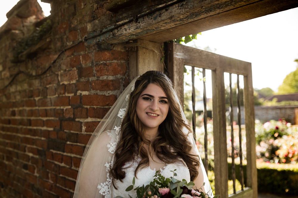 Bride Bridal Veil Lace Haughley Park Barn Wedding Him and Her Wedding Photography