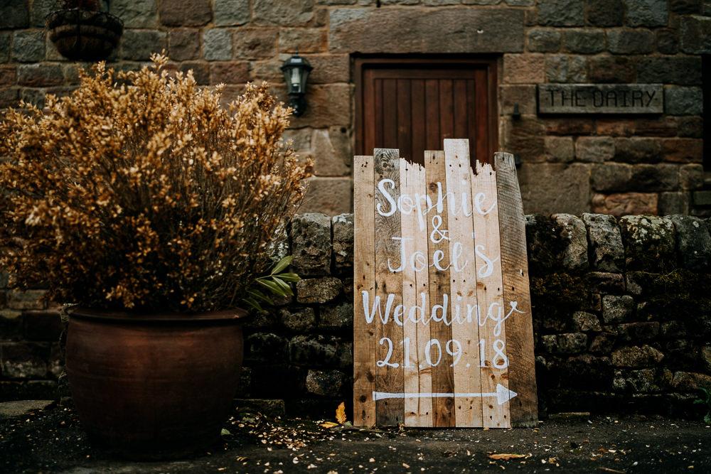 Wooden Signs Sign Signage Welcome Individual Tipi Wedding Bridgwood Wedding Photography