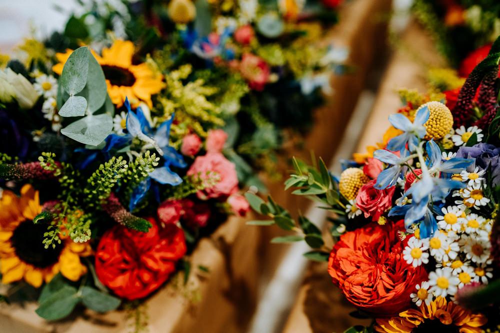 Bouquet Flowers Bride Bridal Colourful Wild Natural Individual Tipi Wedding Bridgwood Wedding Photography