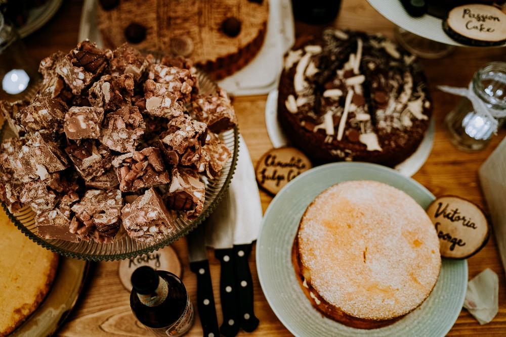 Cake Dessert Table Individual Tipi Wedding Bridgwood Wedding Photography