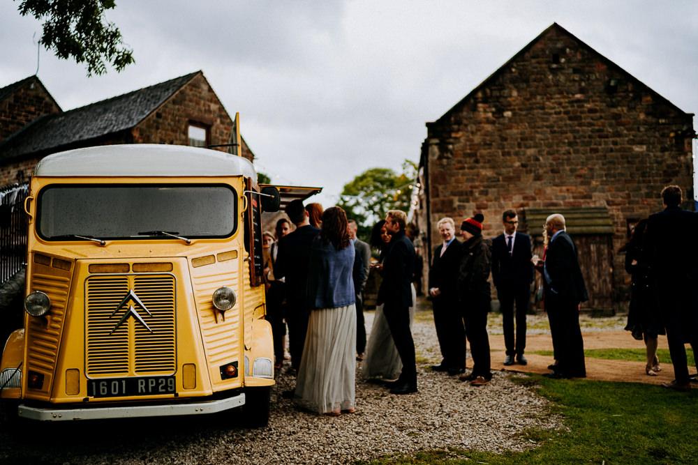 Food Truck Van Individual Tipi Wedding Bridgwood Wedding Photography